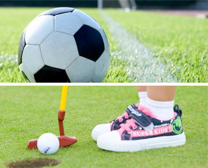 키즈 골프, 축구 체험존 관련이미지